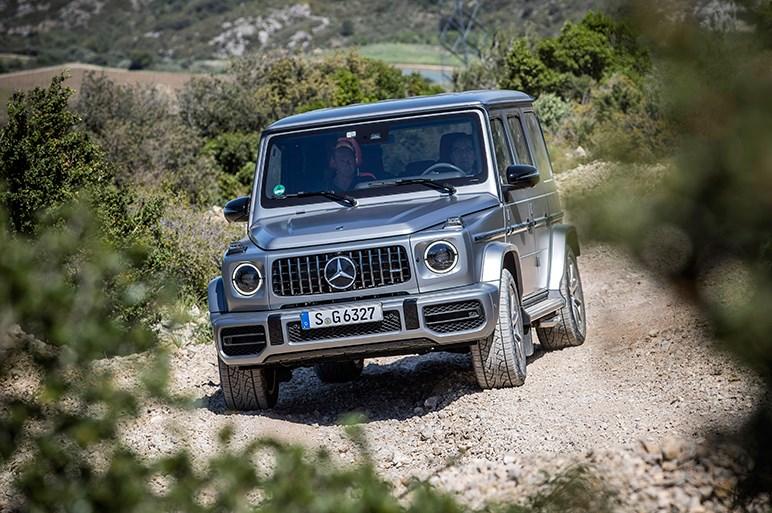 新型Gクラスは走りや快適性が格段に洗練。AMGは0-100加速4.5秒