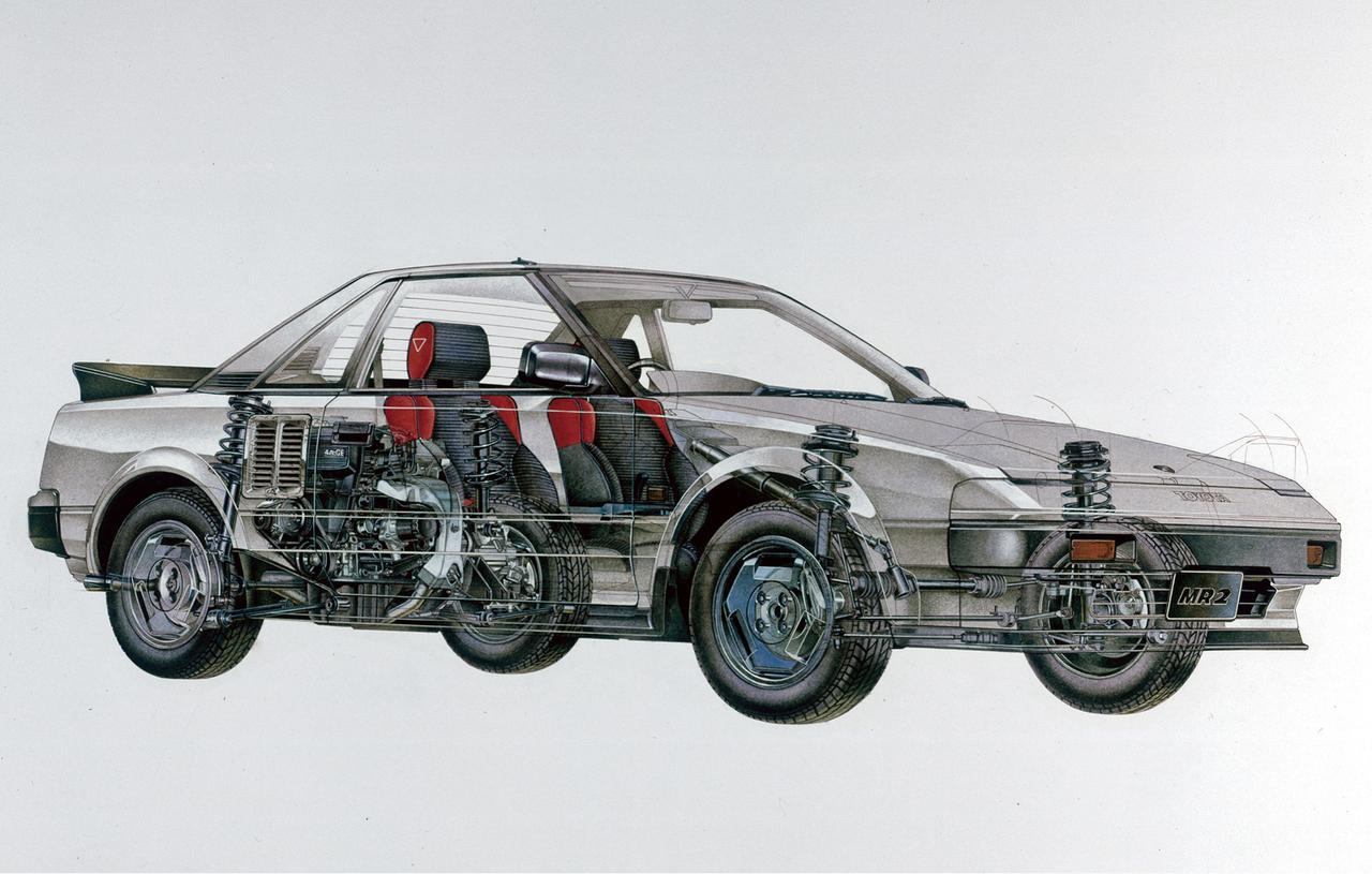 【やんちゃなトヨタ】初代 MR2 トヨタのやり過ぎた傑作車たち(その4)