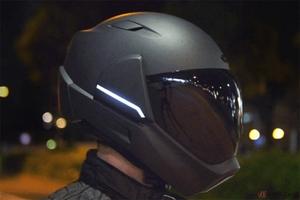 HUD+カメラ搭載 360°の視界を確保した「クロスヘルメットX1」登場