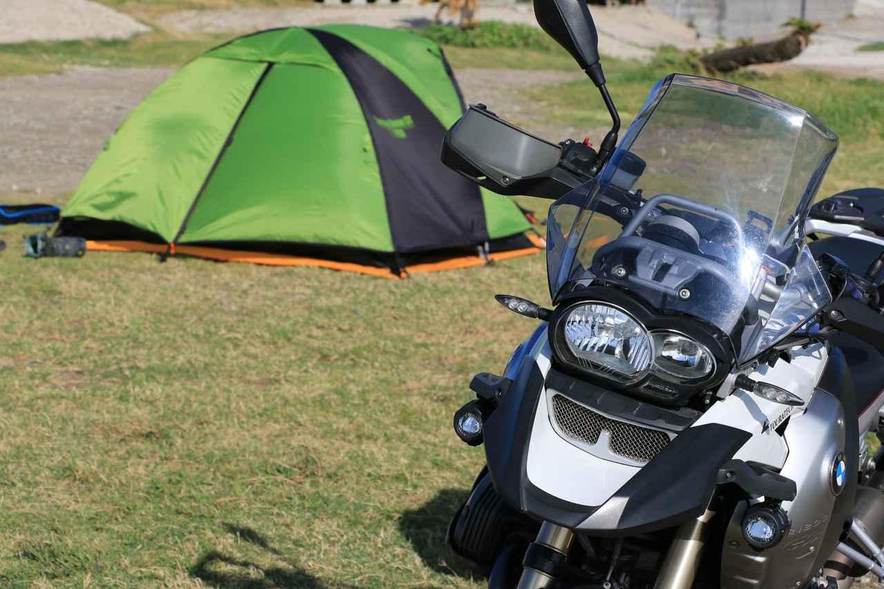 オートバイキャンプ部のお気に入りアイテムを紹介! 月刊『オートバイ』松本副編集長編【編集部員の夏休み(8)】