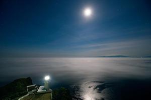 高さ100mの断崖絶壁に太平洋の海霧が押し寄せる(北海道 地球岬)【雲海ドライブ&スポット Spot 11】
