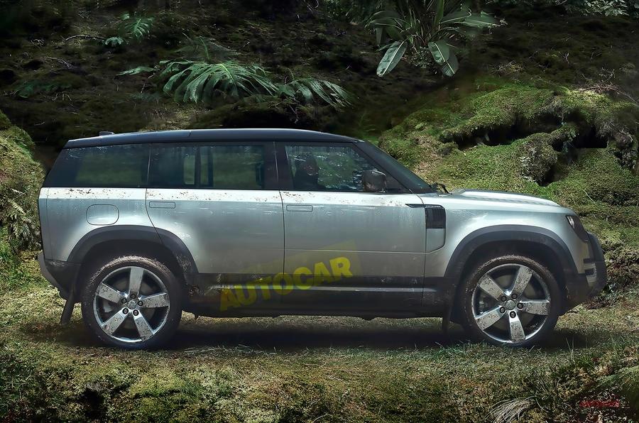 【新モデル2種】ランドローバー、新たなエントリーモデル/ディフェンダー高級EV版を計画か