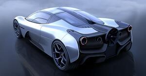 ゴードン・マレーの最新モデル「T.50」のエクステリアを一部公開! レーシングポイントとの提携も発表