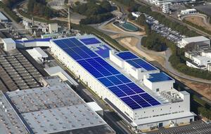 三菱自動車、三菱商事、三菱商事:大規模太陽光発電設備・電動車リユース電池を活用した蓄電システムを岡崎製作所に導入