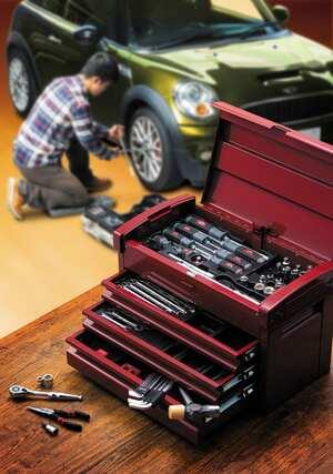【工具は高価でもいい物を】JPNブランド『KTC』の工具セット全129アイテムが今ならお得に買えるんだって!