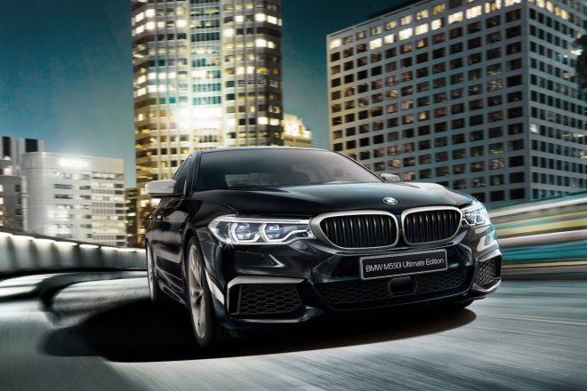 M社製のV8エンジン搭載、『BMW M550i xDrive Ultimate Edition』が55台限定で登場