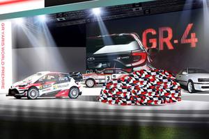 トヨタ 東京オートサロンでスポーツ・バージョン「GRヤリス」世界初公開