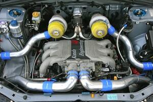 最強SUVを目指してSG9フォレスターにアルシオーネの水平対向6気筒エンジンをツインターボ化して搭載!?