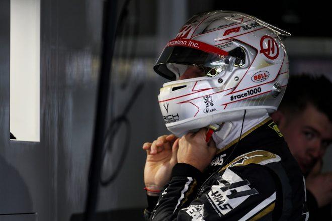 ハース、Q3アタックのタイミングを誤り2台揃ってノータイム「時計を中国時間に合わせるのを忘れたかもね!」とグロージャン:F1中国GP土曜