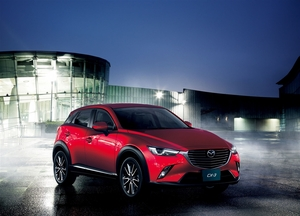 マツダ CX-3がドイツの自動車デザイン賞を受賞