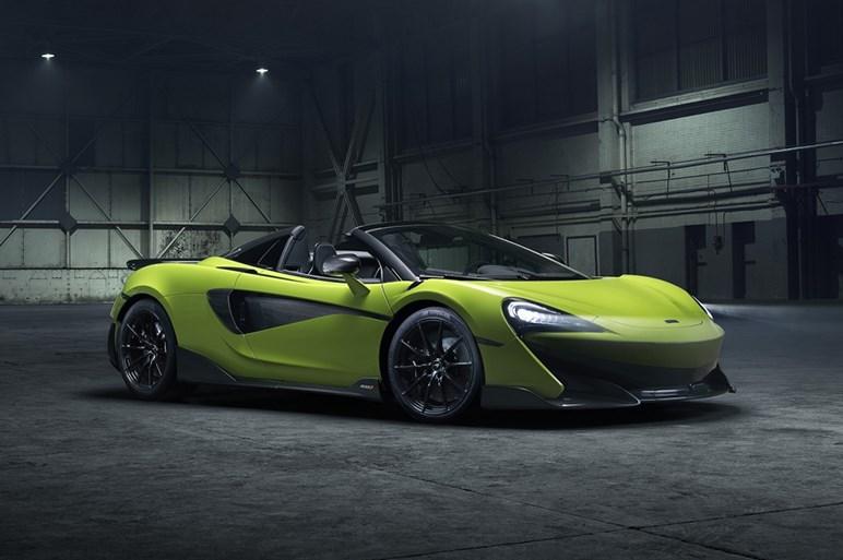 マクラーレン、新型オープン「600LTスパイダー」を発表。価格は約2860万円
