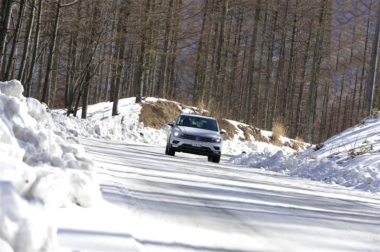 8年ぶりのFMC、新型ティグアンの実力を高速道路&雪上でチェック