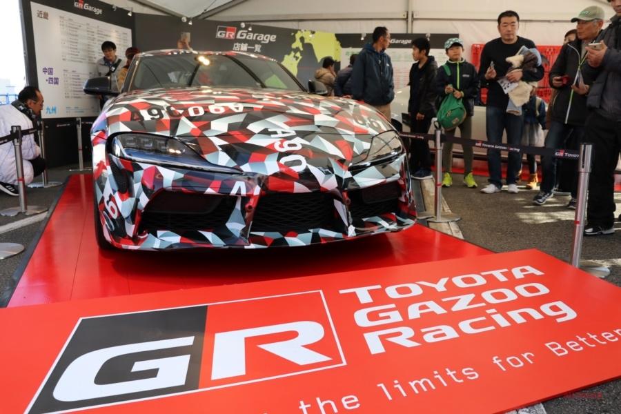 TOYOTA GAZOO Racing FESTIVAL 2018 トヨタモータースポーツの総決算 新型スープラも登場