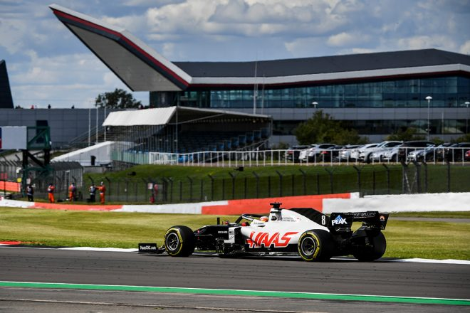 グロージャン「リスタート時にタイヤが心配だったけど、ペースを維持することができて満足」:ハース F1第4戦決勝
