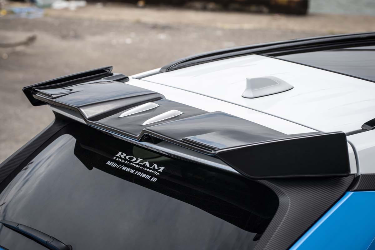 超立体的なエアロ造形で勝負!〈トヨタ・RAV4〉ロジャムが提案するハイクラスなラグジュアリースタイル!