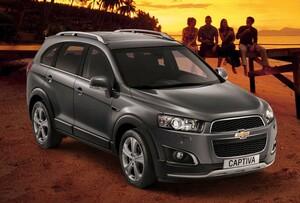 シボレー、特別仕様車「シボレー キャプティバ アクティブ レッド」発表