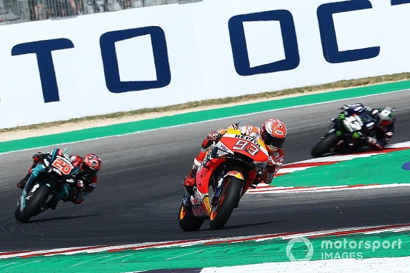 """【MotoGP】""""必須じゃない""""7勝目を掴んだマルケス、ロッシとのいざこざがモチベーションに"""