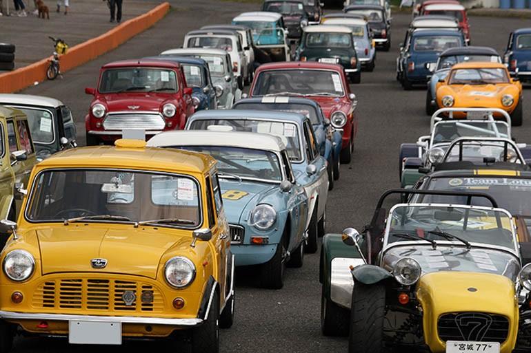 東北ミニの一大イベント『TMMEミニ・サーキットフェスティバル』-ブリティッシュガレージ レブ