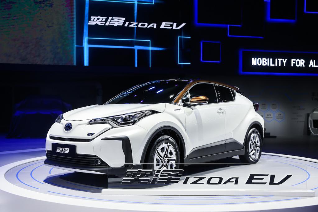 TNGA初のEV、トヨタC-HR EVの可能性 中国でトヨタブランド初EVの意味