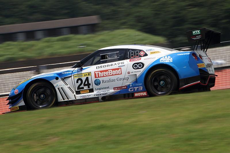 スリーボンド日産自動車大学校GT-Rが盤石な走りでポール・トゥ・ウィン/スーパー耐久第4戦