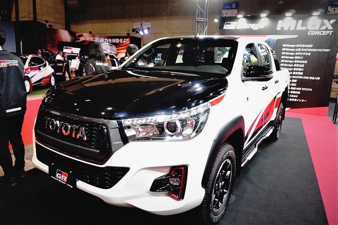 トヨタディーラーの有志連合 オートサロンで公開 ハイラックスGRGコンセプトに注目 資本を超え複数ディーラーで車づくり