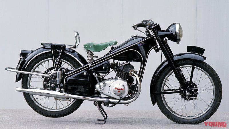 ホンダ初の4ストローク・1952年製造「ドリームE型」動態走行【映像も収録】