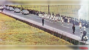 '64東京オリンピック聖火リレー白バイの雄姿【2020年に使われる白バイはどうなる?】
