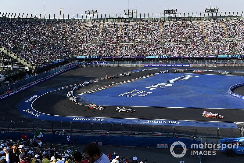 フォーミュラEメキシコシティ、コースレイアウトを一部変更。F1コースを活用、昨年大クラッシュ発生のシケインは削除
