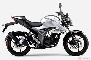 スズキ新型「ジクサー」登場 空冷単気筒150ccエンジンを登載するロードスポーツネイキッド