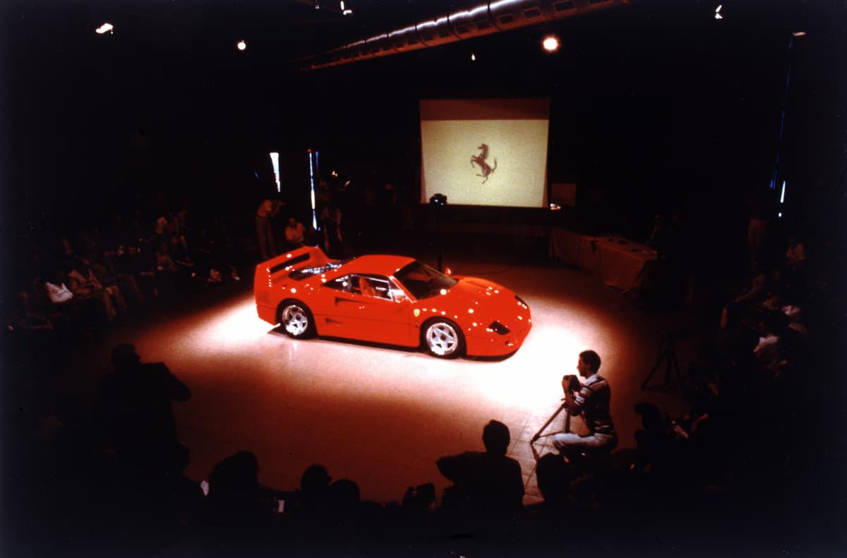 「転売するだけで1億円の儲け」と言われたフェラーリF40の真相