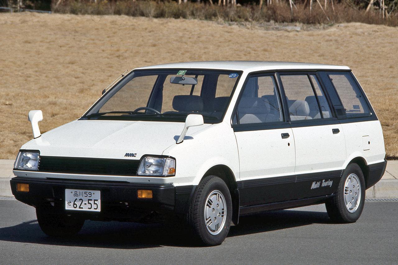 【昭和の名車 152】三菱 シャリオは、日本製ミニバンのルーツ的存在だった