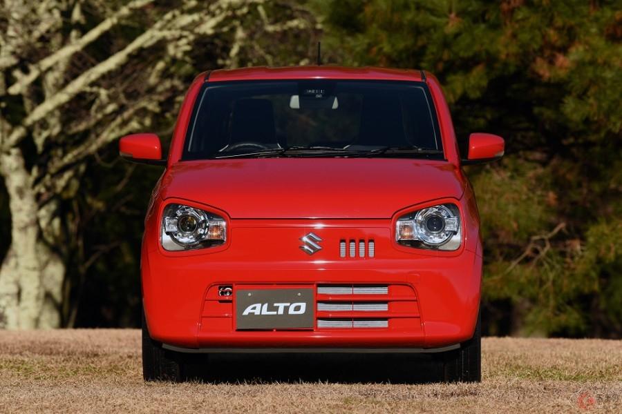 さらに安全に!落ち着きあるモデルへ スズキ「アルト」一部改良車が登場