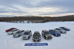 【試乗】スバルSUVシリーズのAWD制御の進化を雪上で確認
