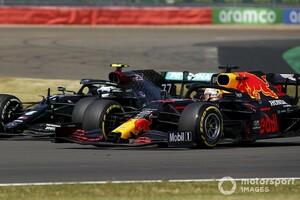 F1 70周年記念GP決勝:レッドブル・ホンダ今季初優勝! フェルスタッペン抜群のタイヤマネジメント光る