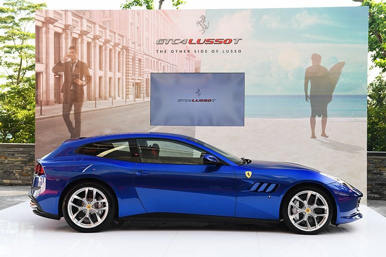 フェラーリ GTC4ルッソ T日本上陸。V8ターボにダウンサイズ&FR仕様に