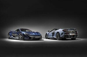 マクラーレン  カーボン・ファイバーを幅広く採用したマクラーレン P1(TM)と マクラーレン 675LT スパイダーをジュネーブ国際モーターショーで公開