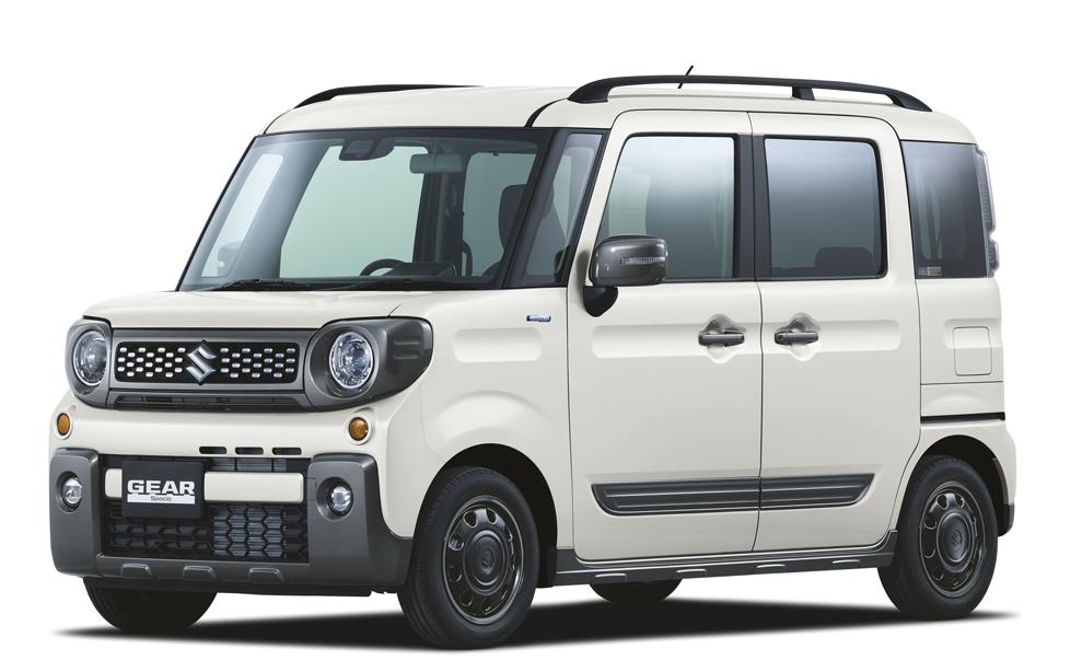 SUVライクな軽ハイトワゴン スズキ「スペーシア ギア」新モデルを先行公開