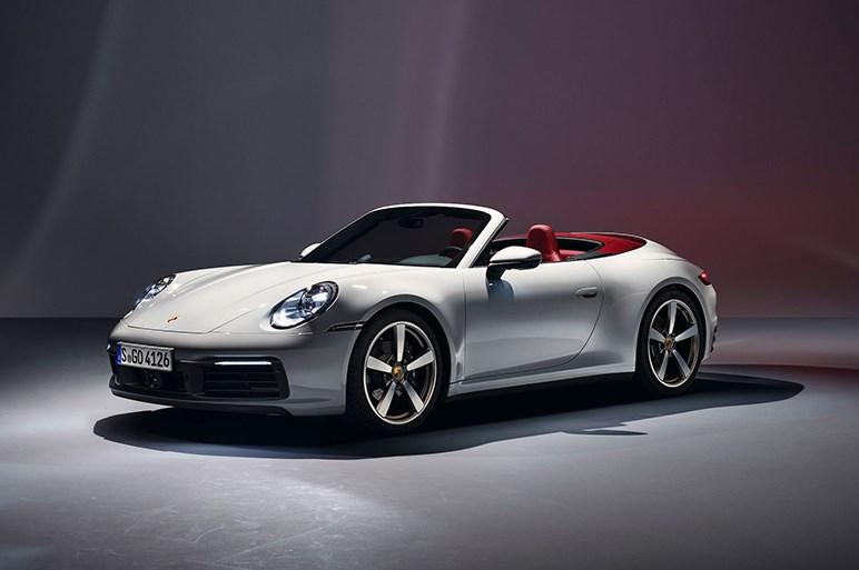 ポルシェ、新型911カレラ&カレラカブリオレを発表