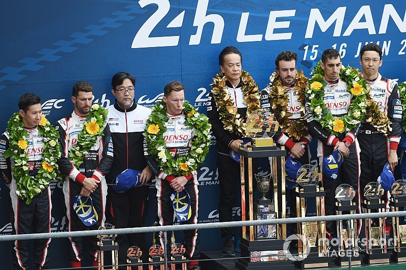 「『まだ改善が足りない!』とル・マンの女神に言われたよう」トヨタGAZOO友山プレジデントが連覇にコメント