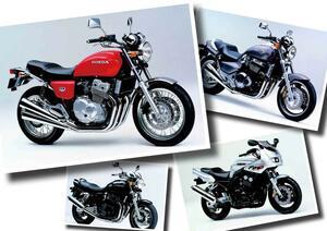 空冷4気筒全盛期!ホンダX4、CB400FOUR、ゼファー1100!【日本バイク100年史 Vol.066】(1997年)<Webアルバム>