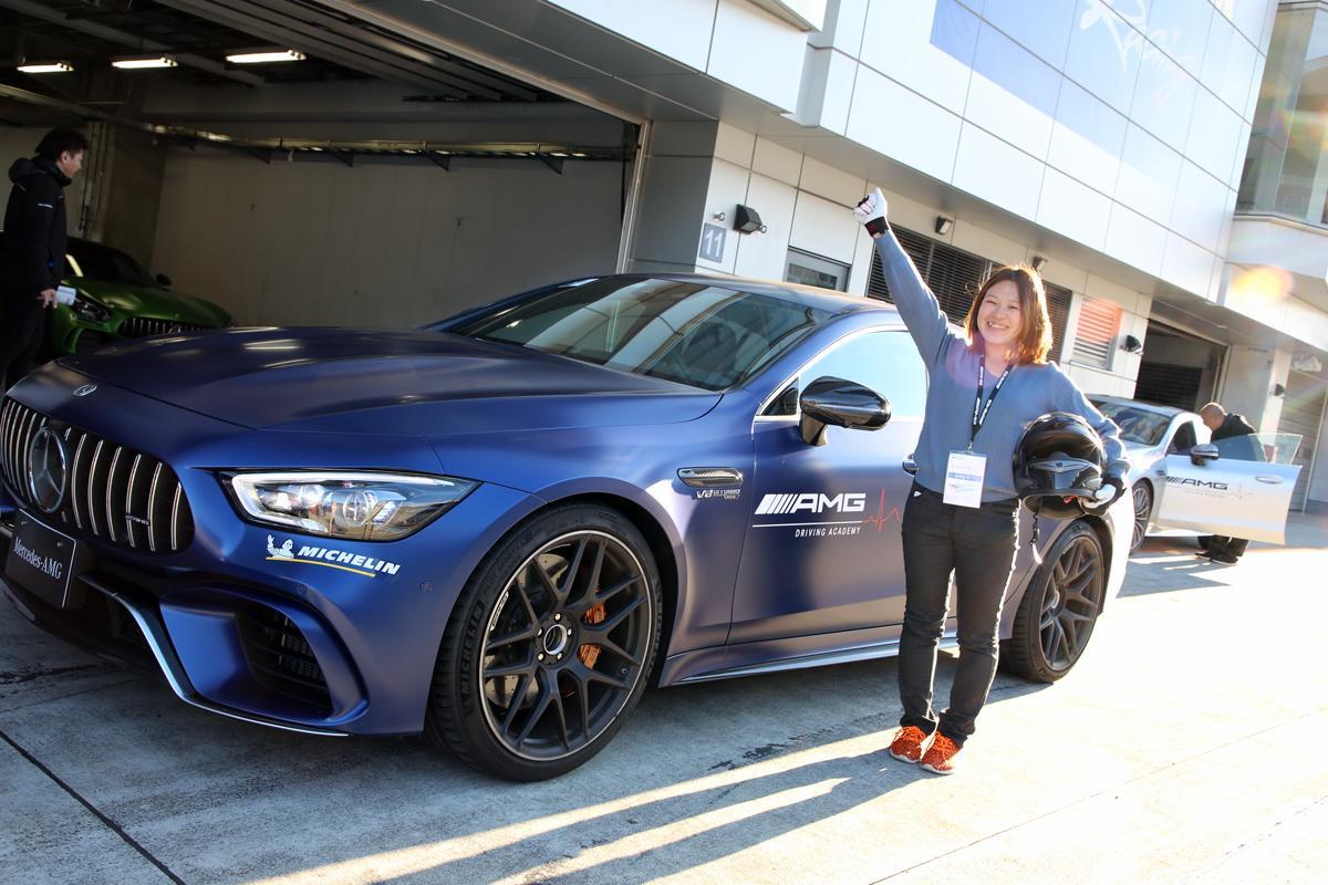 ファン垂涎の最新AMGに乗り放題! ドラテク向上確実なAMGドライビングアカデミーに新人編集部員が挑戦