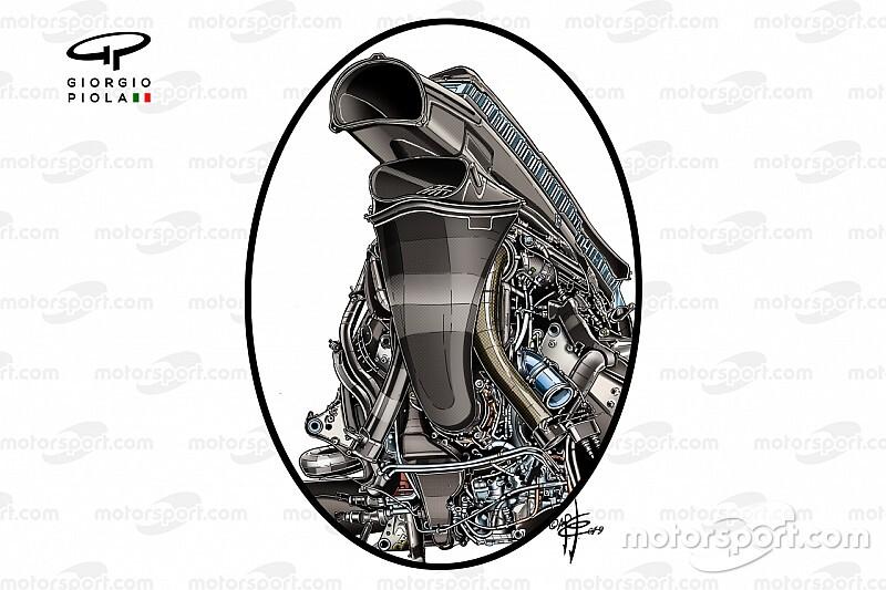 今季3勝……レッドブルRB15はホンダエンジンをどう内包した? 空力性能にも寄与