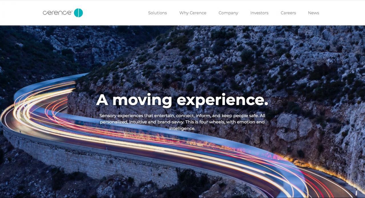 セレンス:AIパワードコネクテッドカープラットフォームでLGと連携