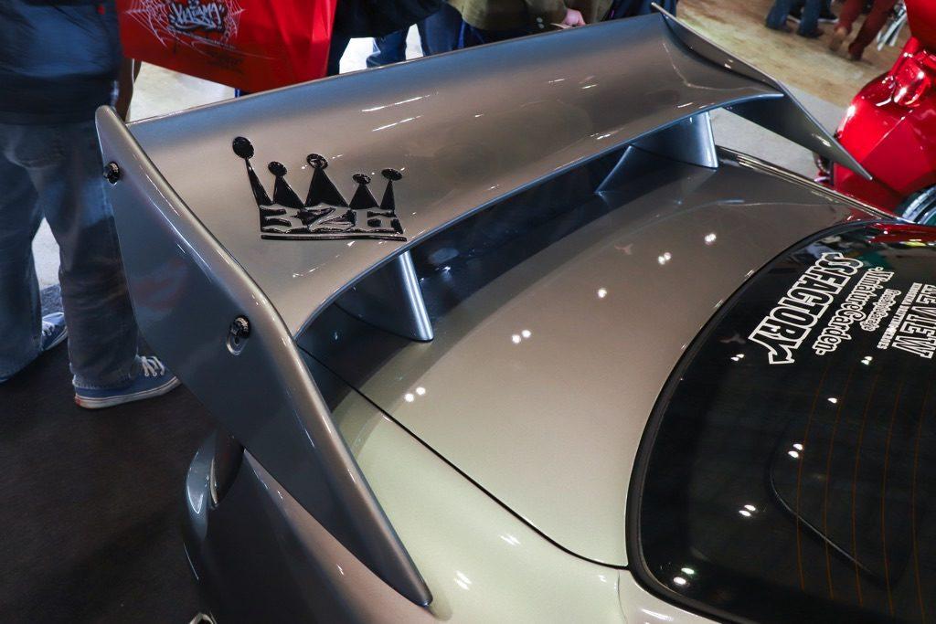 「S15シルビア進化論」326POWERのNEWフェンダー&新型ウイングが素敵すぎる!【東京オートサロン2020】