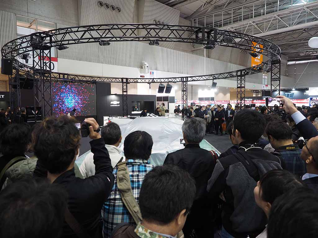 【東京オートサロン2020】新型コルベットが発表と同時にプレオーダーキャンペーンを開始したら会期中に300台受注!