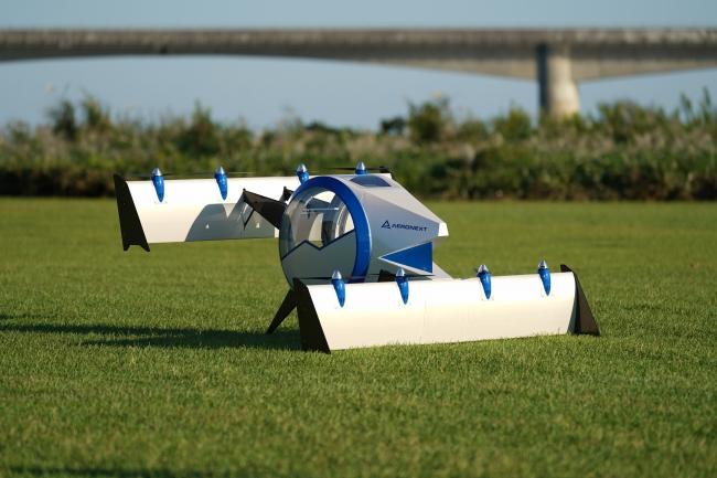 まさに空飛ぶゴンドラ!2023年の実現に向けてエアロネクストが開発中のエアモビリティコンセプト「Next MOBILITY」