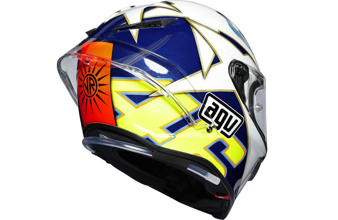 世界限定2003個! バレンティーノ・ロッシの希少すぎるグラフィックヘルメットが、いまAGVのトップモデルでよみがえる!