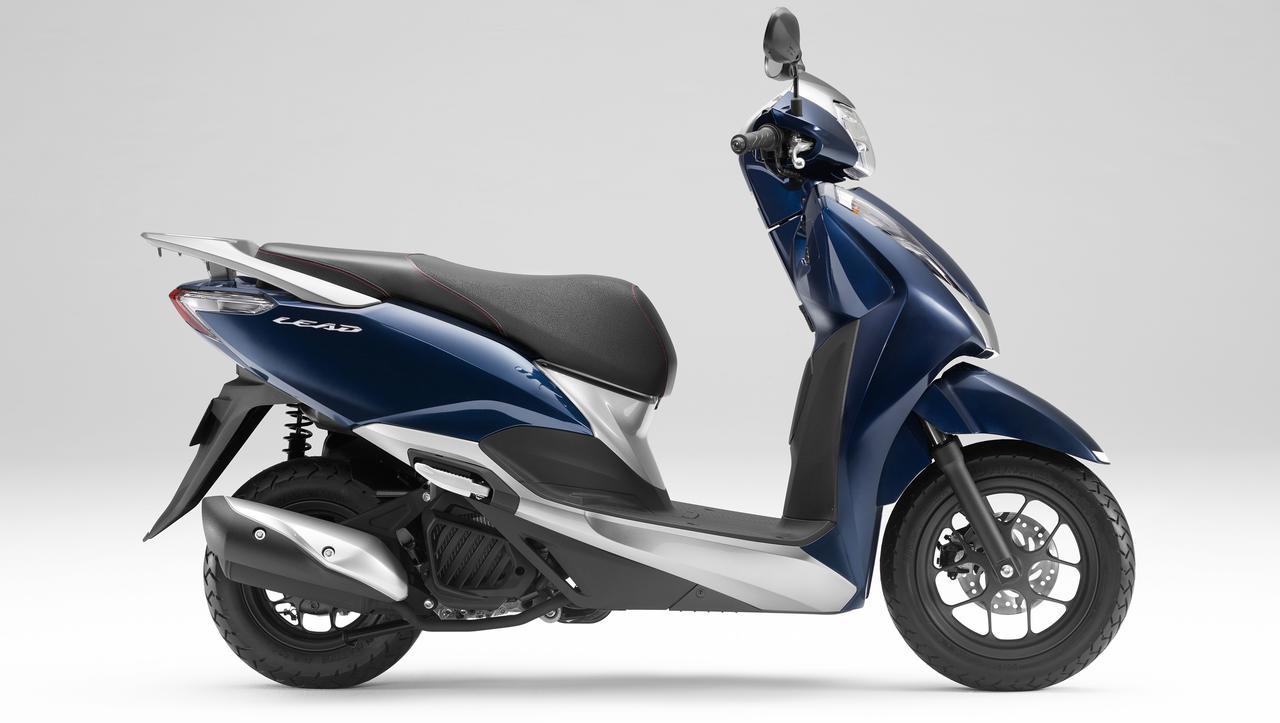 【原付二種】ホンダ「リード125」の最新モデルが10月1日発売開始! カラバリは合計6色、あなたはどの色がお好きですか?
