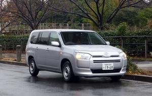トヨタ プロボックス 1.3 GL 試乗レポート 営業マンのためのスペシャルカー レポート:松本晴比古