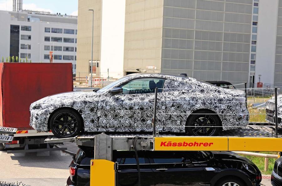 次期型BMW 4シリーズ・クーペを目撃 アウディA5/ベンツCクーペに照準